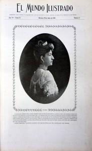 3 El Mundo Ilus 19 jul. 1908 Portada  Valleto Carmen Romano_671x1100