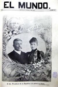 18 El Mundo  30 oct. 1898 Portada Valleto Porifiro y Carmelita