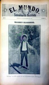 47  El Mundo   15 dic. 1895 Portada ext.  Izaguirre