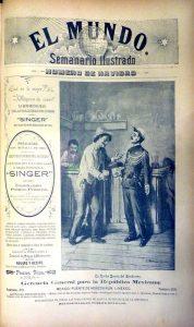 50 El Mundo 22 dic. 1895 Portada Núm. esp. Nav. Carrión